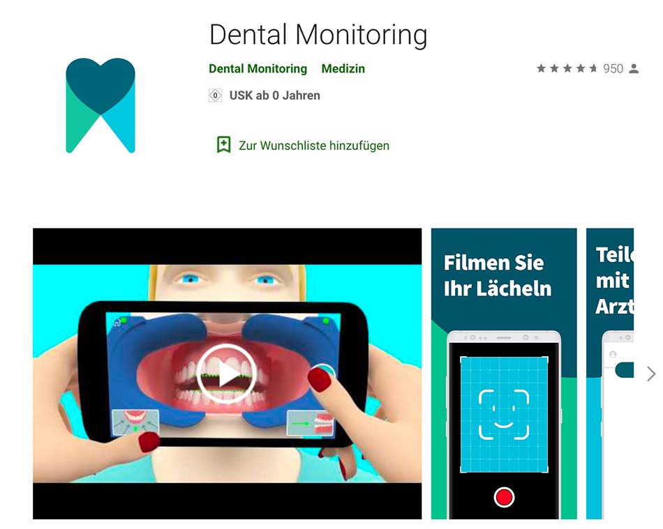 App Android Dental Monitoring